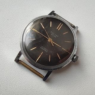 Часы Полет-плоский Poljot de luxe 23 jewels. made in USSR.