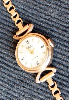 """Наручные часы """"Слава"""" (gold 583)"""