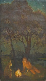 Картина художник Иванов Владимир, лесной пейзаж, холст, масло, Размер картины 107 х 61 см.