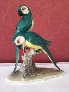 «Hertwig & Co» Попугаи на ветке