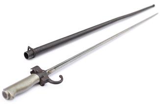Штык обр. 1886 г. к винтовке Лебеля, неукороченный, Франция