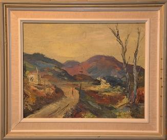 Виктор Барт (1887-1954) масло
