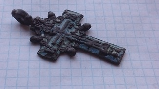 Большой Казацкий крест в эмалях