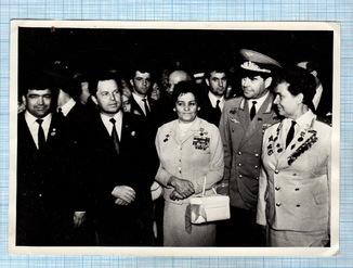 2 Фото. Первая женщина в ВМ Фолоте СССР и другие ГСС.