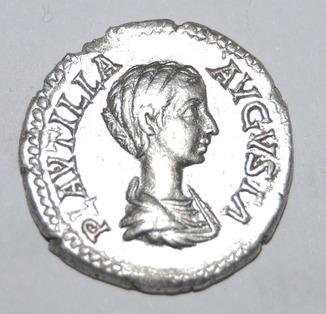 Денарий Плаутилла CONCORDIA Рим жена Каракаллы