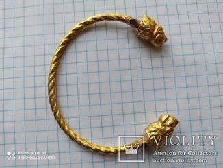 Античный браслет Золото  10,1 гр