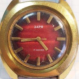 Часы Заря Au10