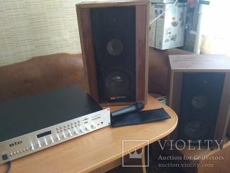 Трансляційний підсилювач big musp 280, колонки, мікрофон