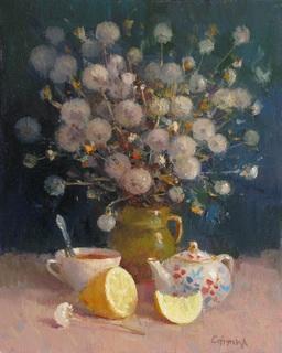 """""""чай з лимоном """" п.о 32-26 см.2020рік"""