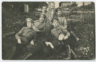 Поручик Нейман с орд. Св. Георгия 4 ст., подпор. Павлов с ГК 1 ст. и др. 291 пех. полк