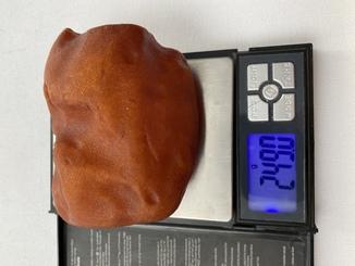 Янтарь 249 grams old amber
