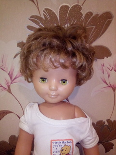 Кукла на резинке 65 см