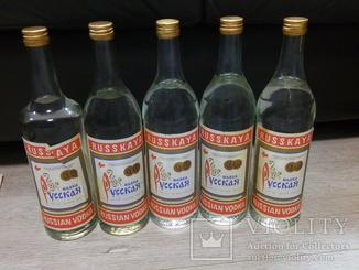 Руская водка дата 13.12.1990 год, для ценителей цифры 13.