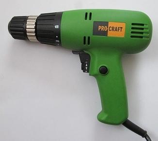 Сетевой шуруповерт Pro Craft PB800 photo 1