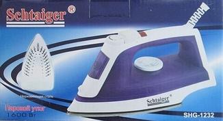 Утюг Schtaiger SHG-1232, 1600Вт