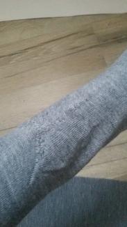 Митенки длинные перчатки без пальцев серые. уценка photo 2