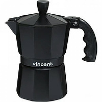 Гейзерная кофеварка на 9 чаш. Vincent алюм., VC-1366-600