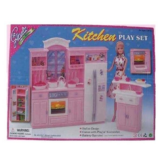 Мебель для кукол Барби Кухня Gloria 24016