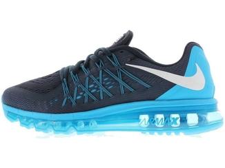 597e6972 Кроссовки мужские Найк Nike Air Max 2015 Black\Blue - «OXO VIOLITY»