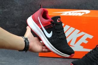 Кроссовки мужские Nike LunarLaunch черно-красные