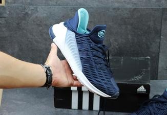 Кроссовки мужские Adidas ClimaCool Adv 2017 сине-белые