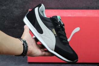 Кроссовки мужские Puma Speeder черно-белые