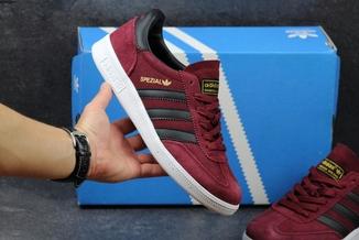 Кроссовки мужские Adidas Spezial бордовые