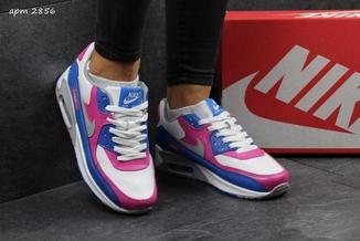 Кроссовки женские Nike Air Max 2016 бело-милиновые
