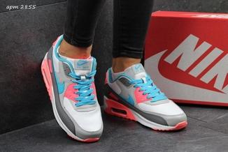 Кроссовки женские Nike Air Max 2016 серо-розовые