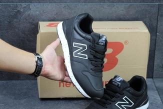 Кроссовки мужские New Balance 996 черно-белые