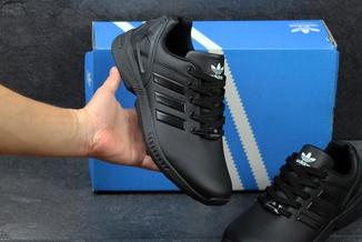 Кроссовки мужские Adidas Zx Flux черные