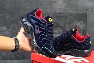 Кроссовки мужские Nike Air Max 95 TN темно-сине-красные