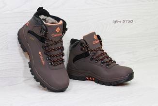 Ботинки мужские зимние Columbia коричневые