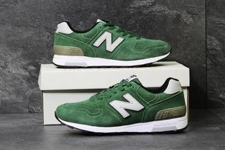 Кроссовки мужские демисезонные New Balance 1400 зеленые