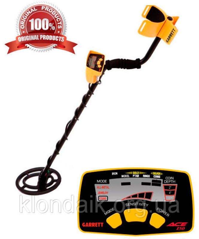 Металлоискатель Garrett Ace 150 инструкция