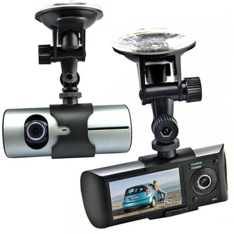 Видеорегистратор с двумя камерами DVR R300