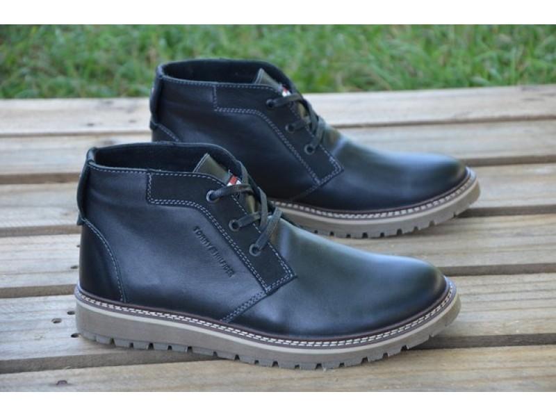 Мужские кожаные ботинки Tommy Hilfiger 540 бот. - «OXO VIOLITY» e900e76419988