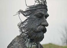 Датский скульптор создает реалистичные арт-объекты из металла