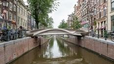 Металлический и печатный — первый мост в Амстердаме, созданный при помощи 3D-принтера