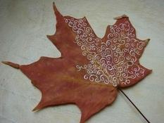 Декор осенними листьями: лучшие подборки от увлеченных пользователей