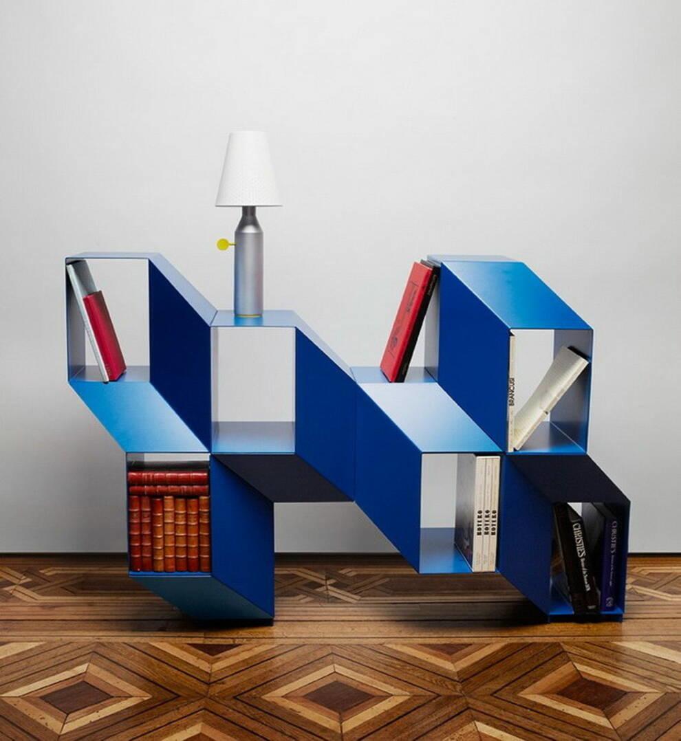 Французский дизайнер создал стеллаж с 3D-эффектом