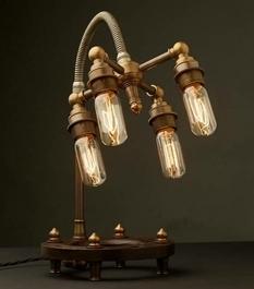 Лампы в стиле стимпанк: ОХО вспомнил лучшие примеры