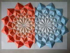 Иллюзорность и объем: интерпретация классического оригами