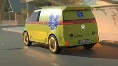 Volkswagen запустит производство беспилотных фургонов скорой помощи